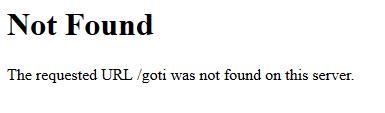 404ページ Not Found ページが見つかりません