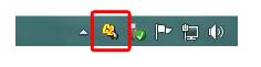 マウスチャタリングキャンセラのアイコンを右クリック