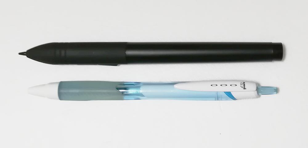 ペンの大きさ