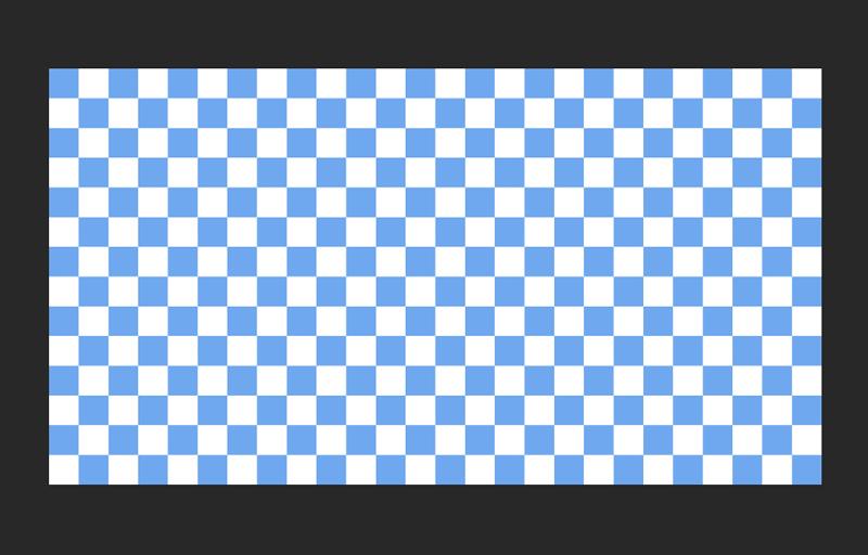 Photoshopでチェック柄のパターンを作る
