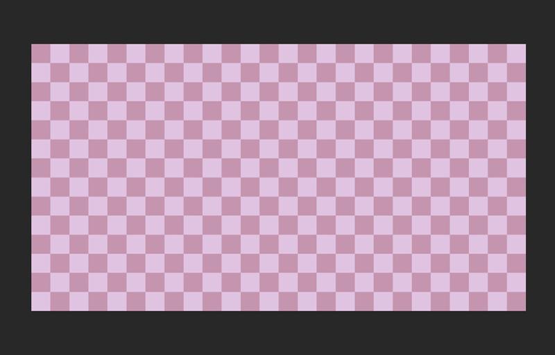 Photoshopでチェック柄のパターン 色の変更