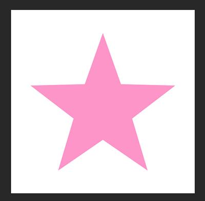 Photoshopでシンプルな星の形をつくる方法