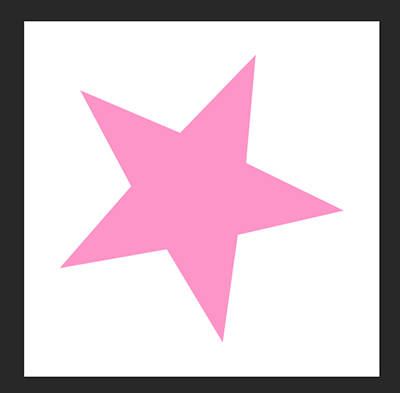 ななめの星も描けます