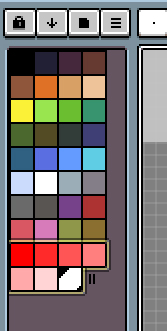 段階的に中間色ができました