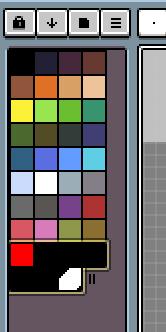 中間色を複数つくる