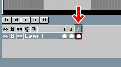 Aseprite フレームを削除する