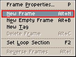 New Frame