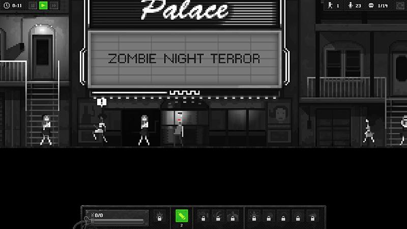 「Zombie Night Terror」Steamで低スペックのPCでも遊べるゲーム