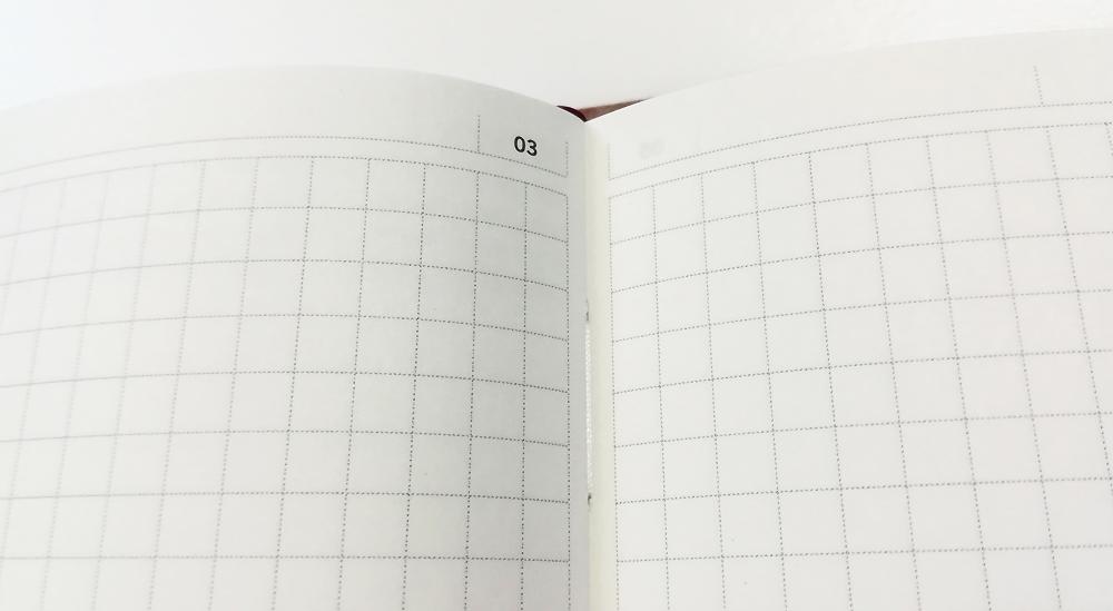 「陰山手帳2019」レビュー 方眼ページ