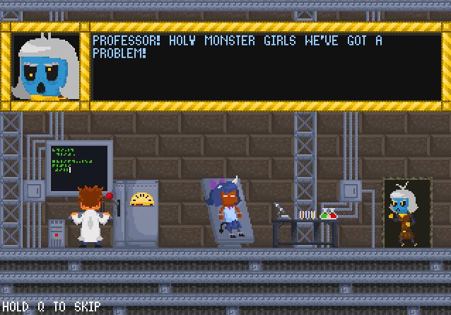 低スペックのノートPCでもできるSteamのゲーム Khimera: Destroy All Monster Girls