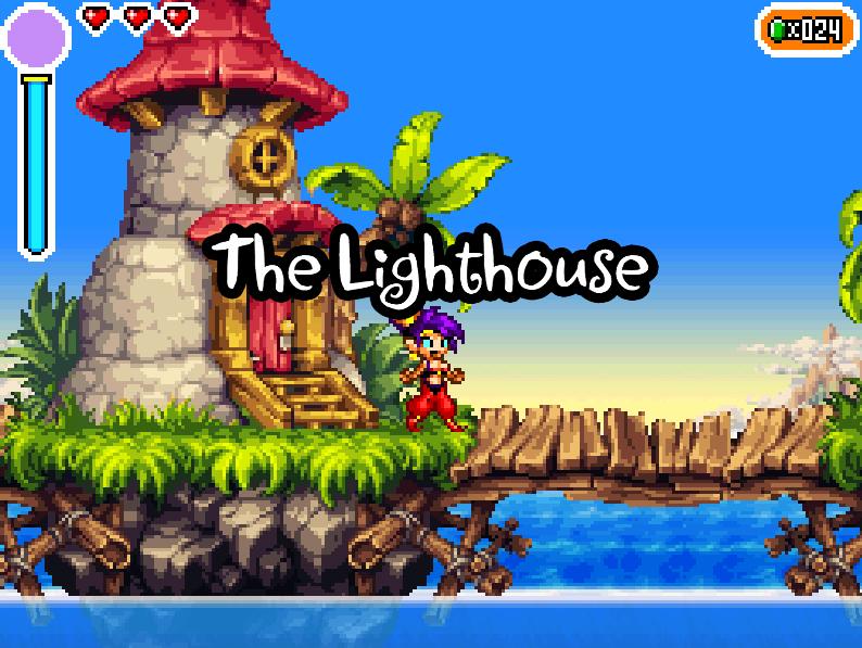 低スペックのPCでもできるSteamのゲーム Shantae: Risky's Revenge - Director's Cut