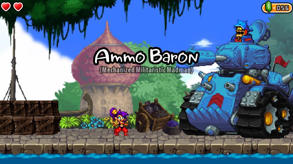 低スペックでも動くSteamのゲーム Shantae and the Pirate's Curse