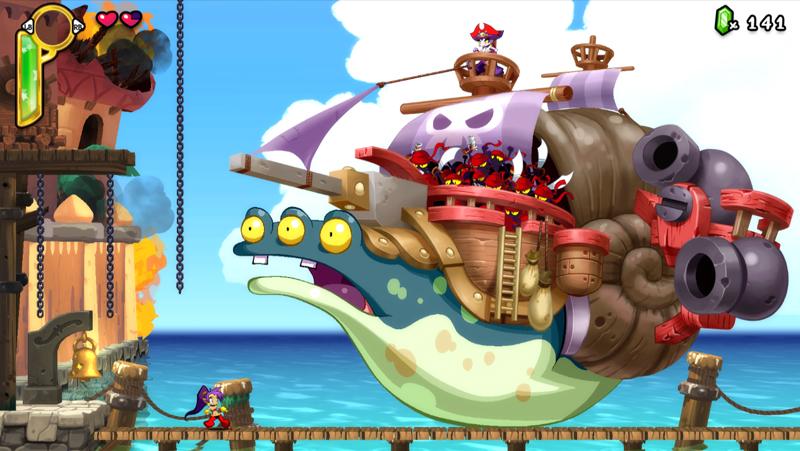 Shantae: Half-Genie Hero Ultimate Edition 低スペックのノートパソコンでもプレイ可能