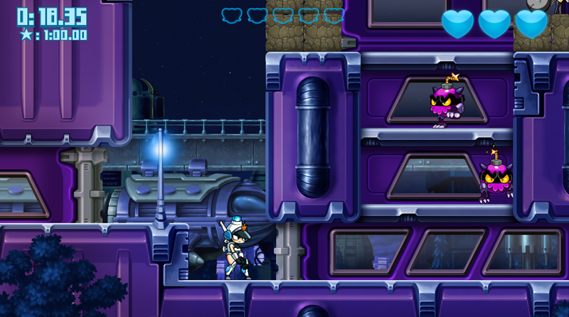 Steam「Mighty Switch Force! Hyper Drive Edition」低スペックのノートパソコンでもできるゲーム