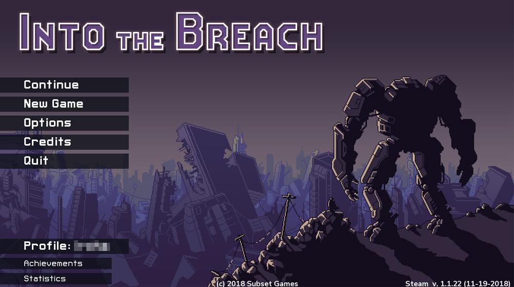 Into the Breach 低スペックのノートPCでプレイできるゲーム Steam