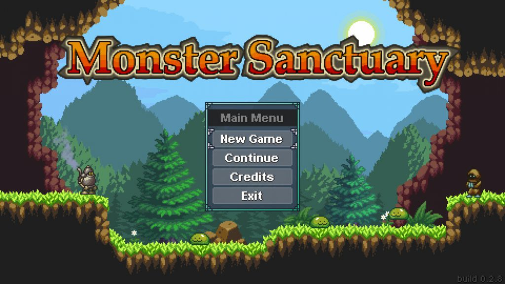 Monster Sanctuary Steam 低スペックでもプレイ可能