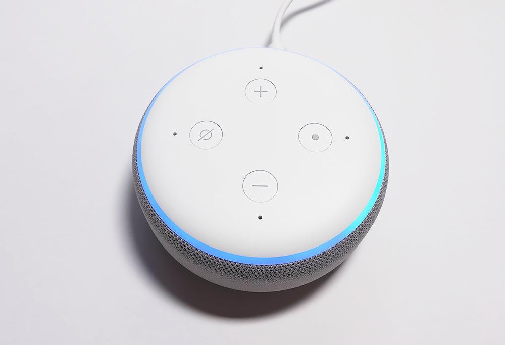 Echo Dot アクションボタンが有効