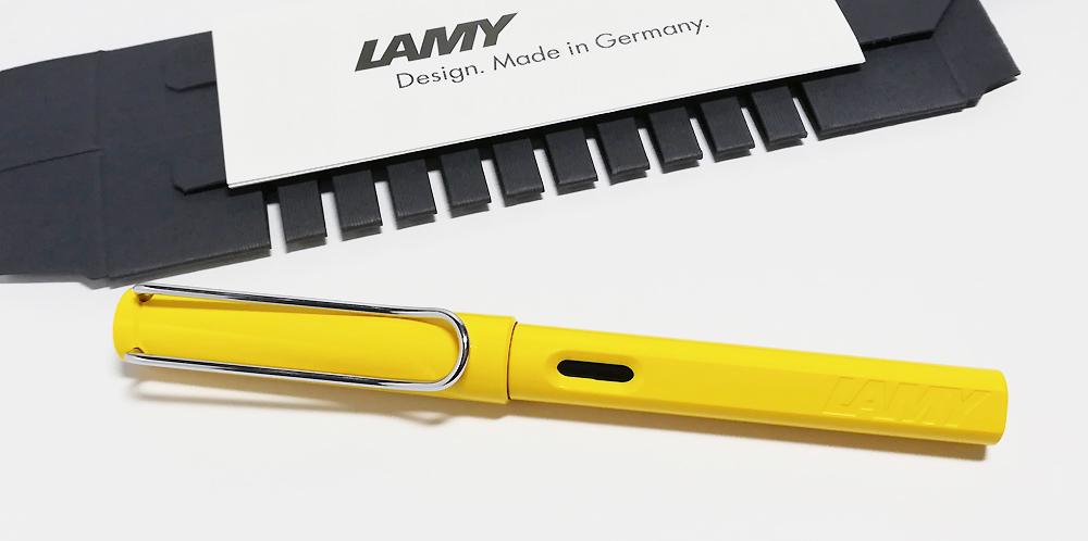 万年筆「LAMY safari(ラミーサファリ)」レビュー