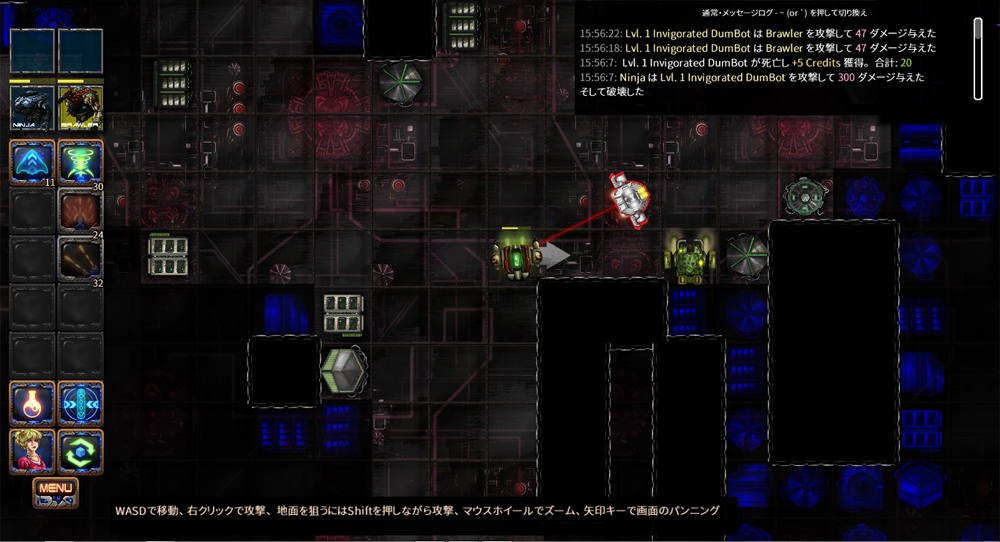 Bionic Dues Steam ローグライク