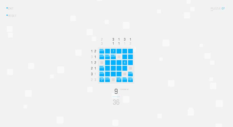 Steamでおすすめのパズルゲーム「SquareCells」
