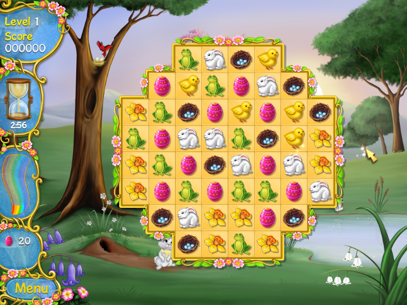 【Steam】かわいいパズルゲーム「Spring Bonus」