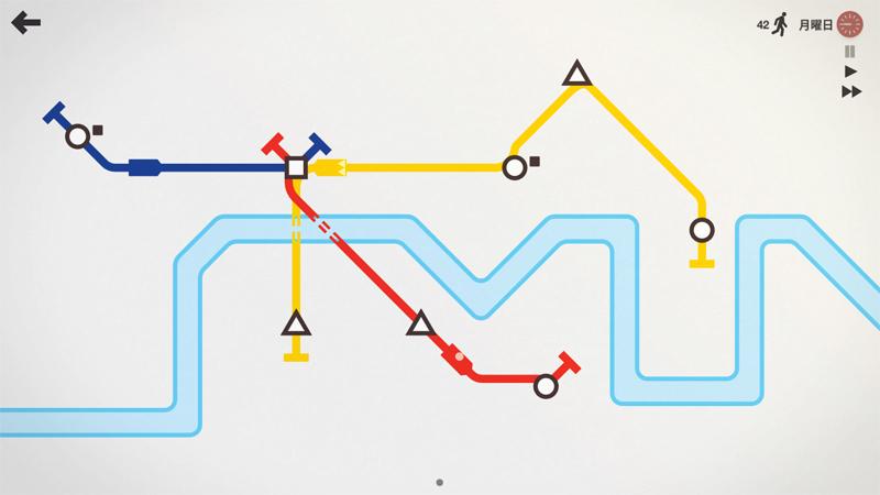 【Steam】おすすめパズルゲーム「Mini Metro」