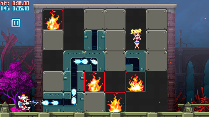 Steam「Mighty Switch Force! Hose It Down!」おすすめパズル