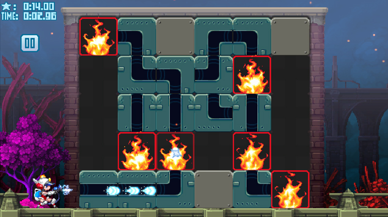 「Mighty Switch Force! Hose It Down!」 Steamおすすめのパズルゲーム