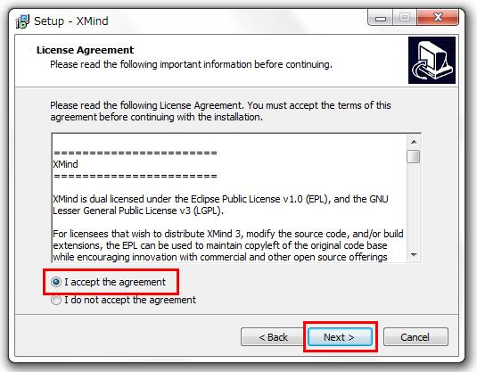 XMind 8 セットアップ