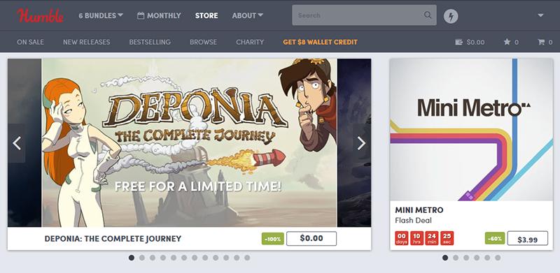 Steamのゲームが無料でもらえる!Humble Bundleを使ってみよう