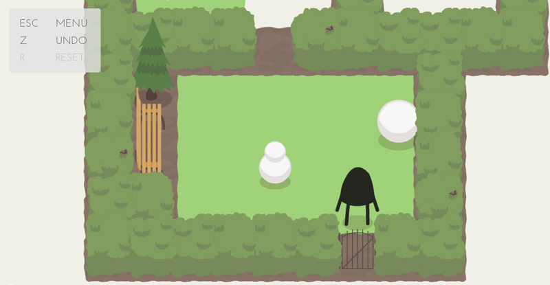 Steamでおすすめのパズルゲーム「A Good Snowman Is Hard To Build」