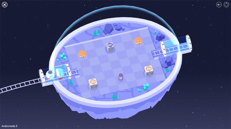 Steam「Cosmic Express」 宇宙の電車をモチーフにしたパズルゲーム