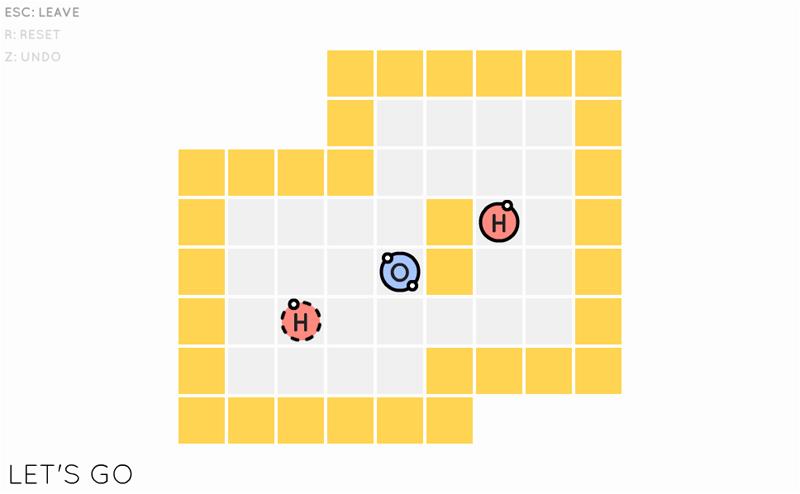 Steam「Sokobond」おすすめのパズルゲーム