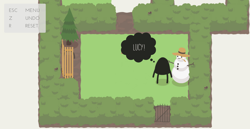 Steamおすすめパズルゲーム「A Good Snowman Is Hard To Build」