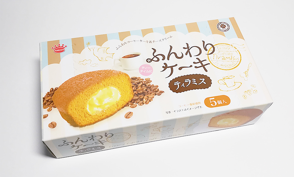 業務スーパー「ふんわりケーキ(ティラミス)」 おすすめのお菓子