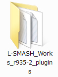 「L-SMASH」フォルダ