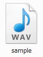 CeVIOの音声データ WAVファイル