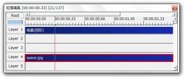AviUtl オブジェクトを切り抜く方法 クリッピング