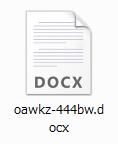 ファイルの名称はランダムな文字列に