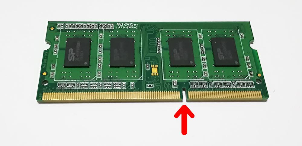 dynabook Satellite B253J メモリを入れる向き