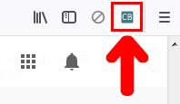 「Channel Blocker」のアイコンをクリック