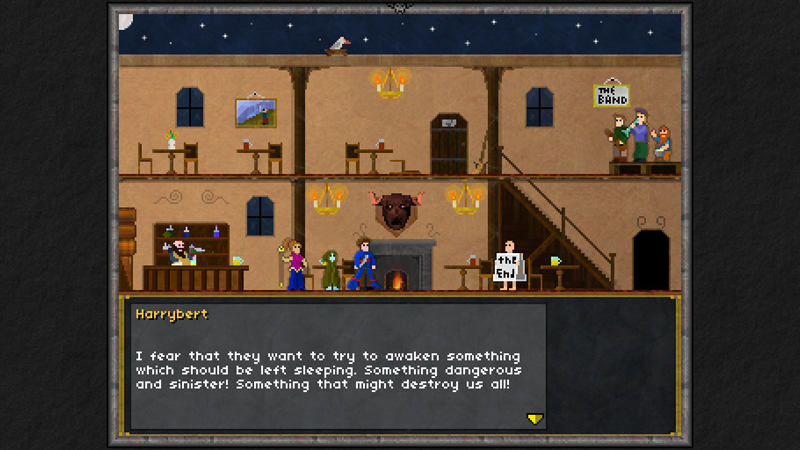 Pixel Heroes Steamでドット絵がすばらしいゲーム