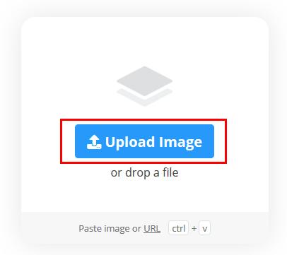 背景を消したい画像を選択