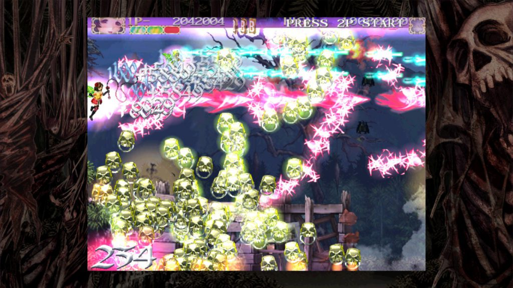 Steam「Deathsmiles(デススマイルズ)」へなちょこでもたのしめるシューティングゲーム