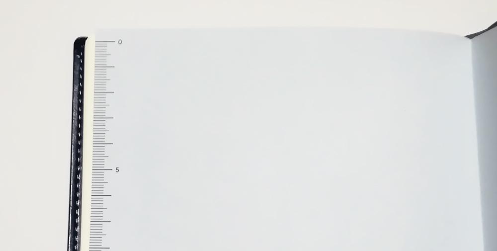 永岡書店の手帳「Biz GRID」定規