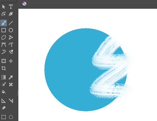 ペイントツール「Krita」の消しゴム機能