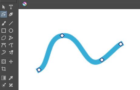 Krita ベクター図形編集ツールの使い方1