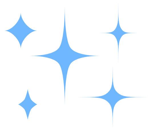 【Affinity Designer】キラキラの作り方