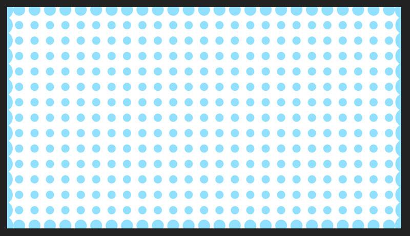 水玉ドットが設定した色に変わります