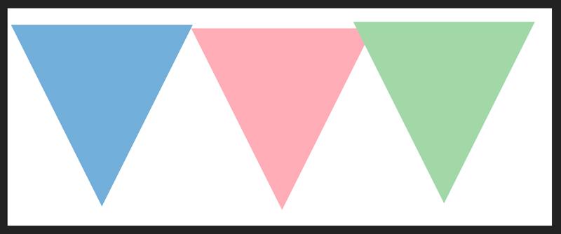 もう2つ三角形をつくります